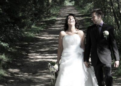 Hochzeitpaar in Haselau #Hochzeit-Fotografie Christof Plautz