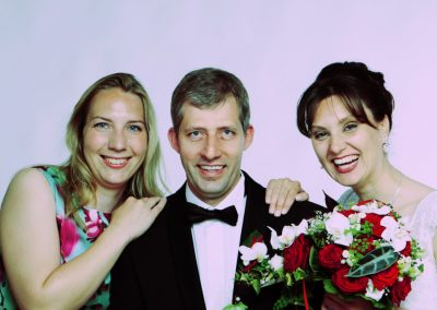 Hochzeitsfoto im Studio Haseldorf bei Hamburg von Studio Fotograf Christof Plautz