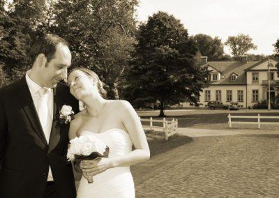 Sinnliche Hochzeitsfotos in Haseldorf bei Uetersen Foto von Christof Plautz