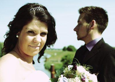 Hochzeitsfoto / Paar aus Stralsund / Rügen © Christof Plautz