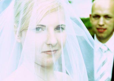 Brautschleier Fotos bei Parchim © Christof Plautz