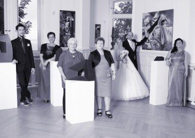 Hochzeitsgesellschaft bei Parchim vom Hochzeitsfotografen Christof Plautz
