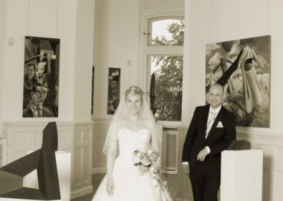 Paarfotos / Hochzeitspaar bei Schwerin © Christof Plautz