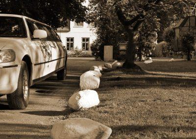 Stretchlimousine fotografiert in der Hochzeitsstadt Uetersen © Christof Plautz