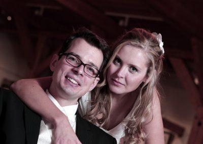 Hochzeitspaar im Studio in Uetersen Hochzeitsfotograf ist Christof Plautz