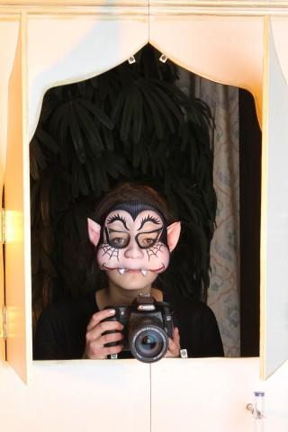 """Fotograf Alf"" beim Auslösen."