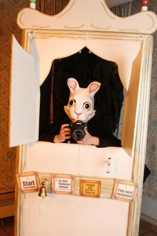 Fotograf Hase löst nach wenigen Sekunden aus.